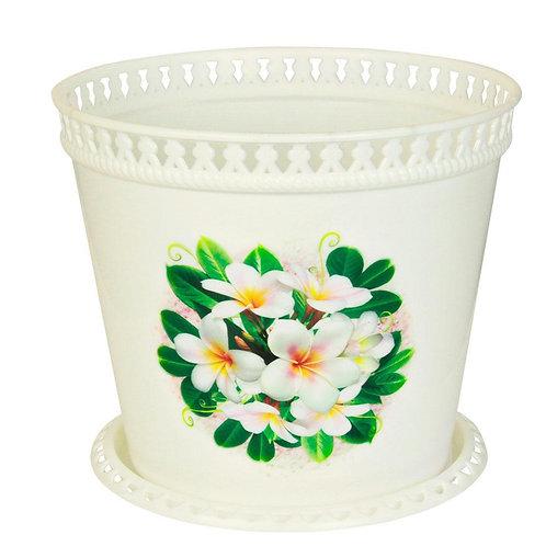 Цветочные горшки -Кашпо Ажур Магнолии 2 л. М 1798