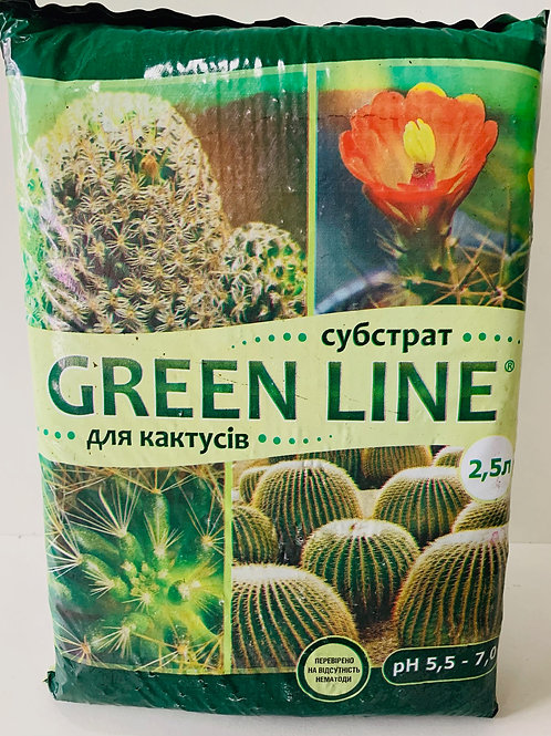 GREEN LINE для Кактусов /2,5л/