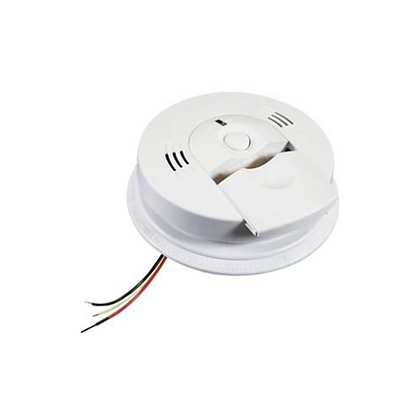 AC Wire-In Smoke Alarm Combo with Ionization Sensor