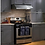 Thumbnail: Stainless Steel Stove Vent Range Hood Gas Wall Oven Under Cabinet Kitchen Ve