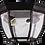"Thumbnail: 2-Light Open Bottom Exterior Ceiling Mount- Matte Black Finish- Clear Glass- 7""H"
