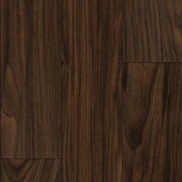 "FLR-636-2MM-WL - 6"" x 36"" Vinyl Plank Flooring - Dark Walnut Wood"