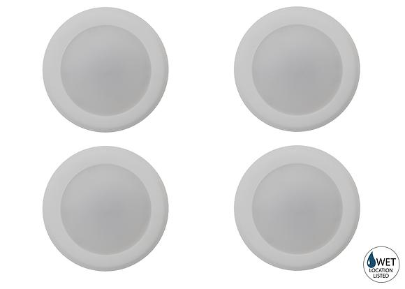 LED-DL712-WH (AC15W/3000K) - 4 Pack