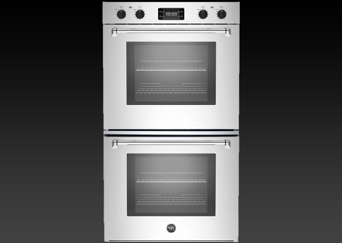 Stainless Steel Double Wall Convection Oven  Electric Kitchen Built In Ov