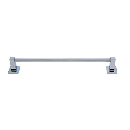 Milan 18 Inch Polished Chrome Towel Bar - #20918