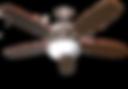 U552 NK5MPWL+G168(190W) WLBL - Ceiling Fan - Reversible Blades