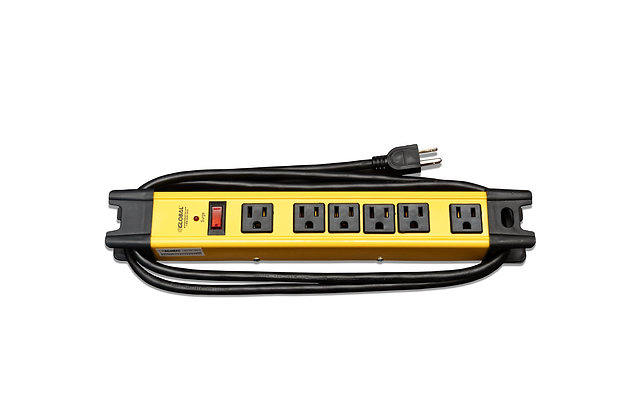 6' Outlet AC Power Strip