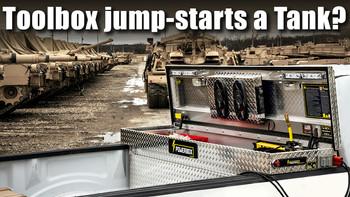 Toolbox Jump-Starts a Tank