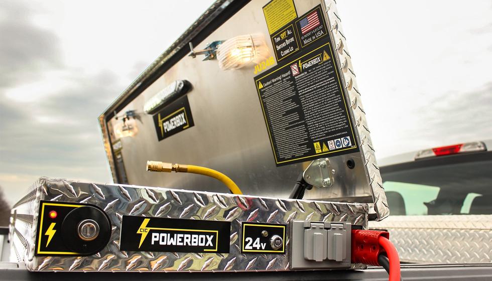 24v Powerbox Portable Power Toolbox