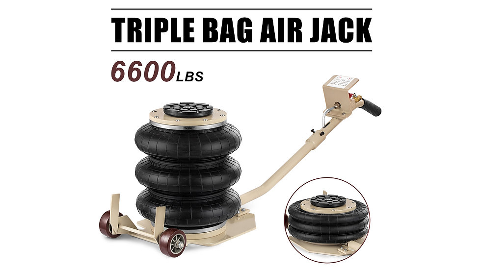 Triple Air Bag Jack