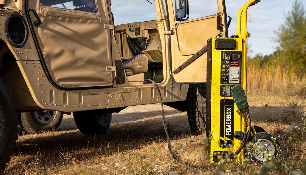 24v POWERCASE Portable Power Generator