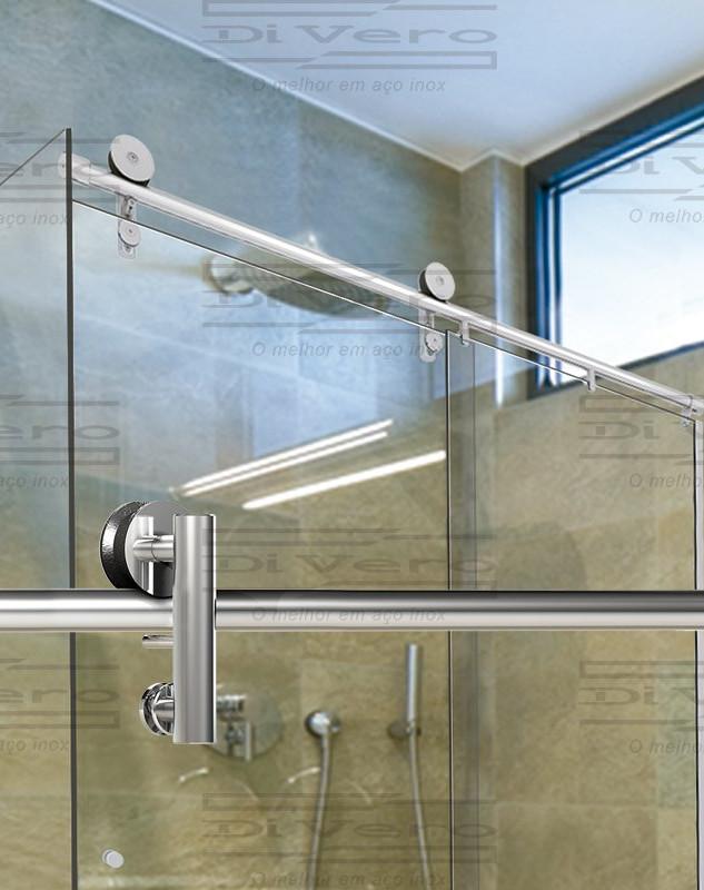 Litoral Glass - Box Milano - Aço Inox 304