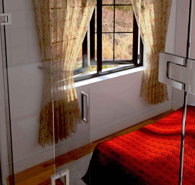 Litoral Glass - Porta Vidro / Vidro