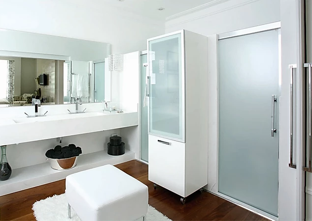 Litoral Glass - Banheiro - Vidro Acidato