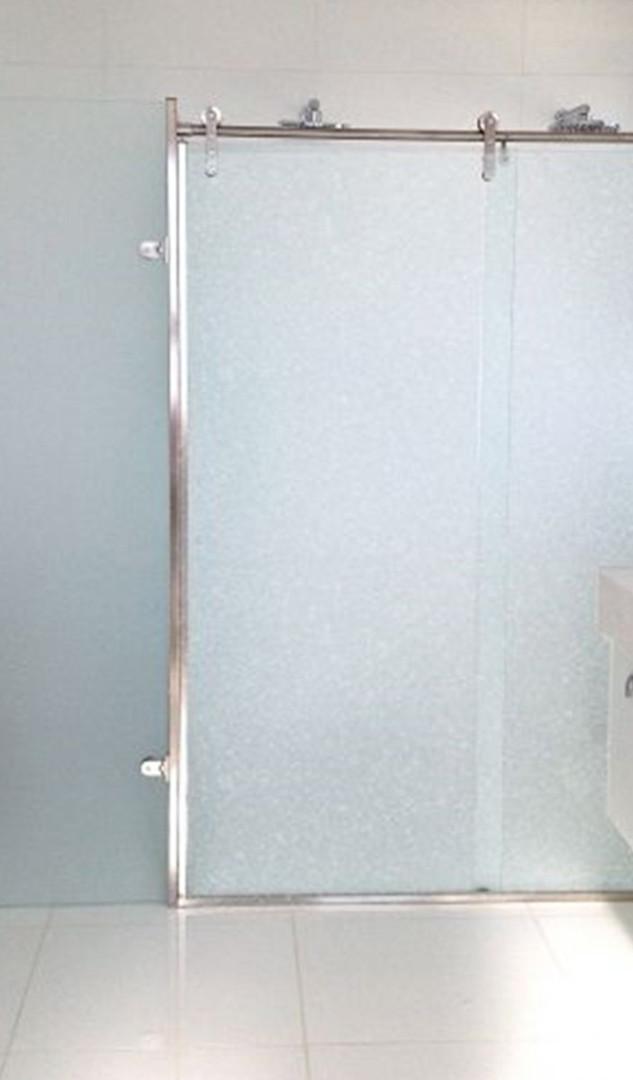 Litoral Glass - Box em Aço Inox 304