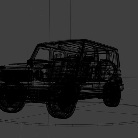 Mercedes Benz G Wagon (CGI)