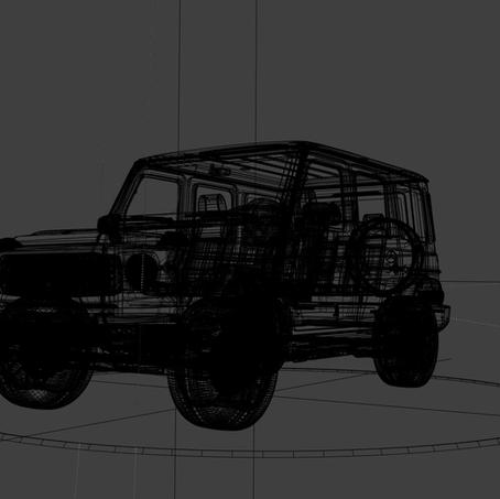 Mercedes Benz G Wagon (CGI)