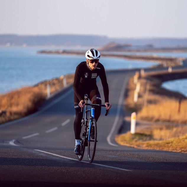 Pro-triatlet Daniel Bækkegaard