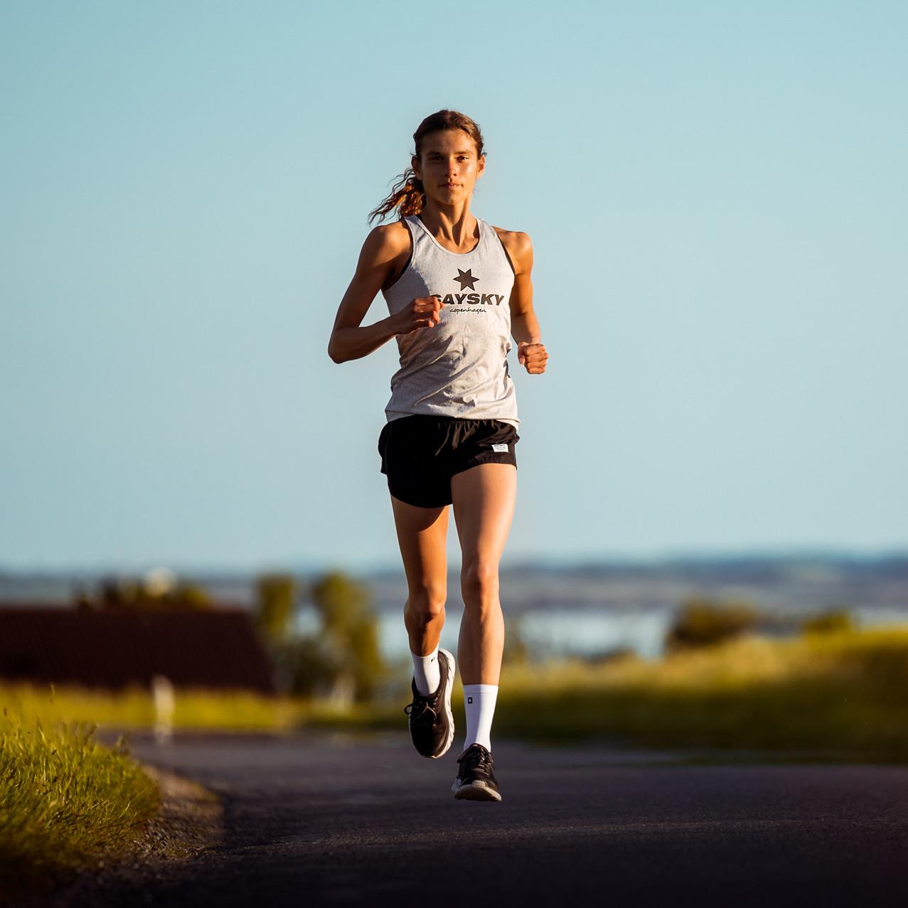 Runner Cecilie Marcimak