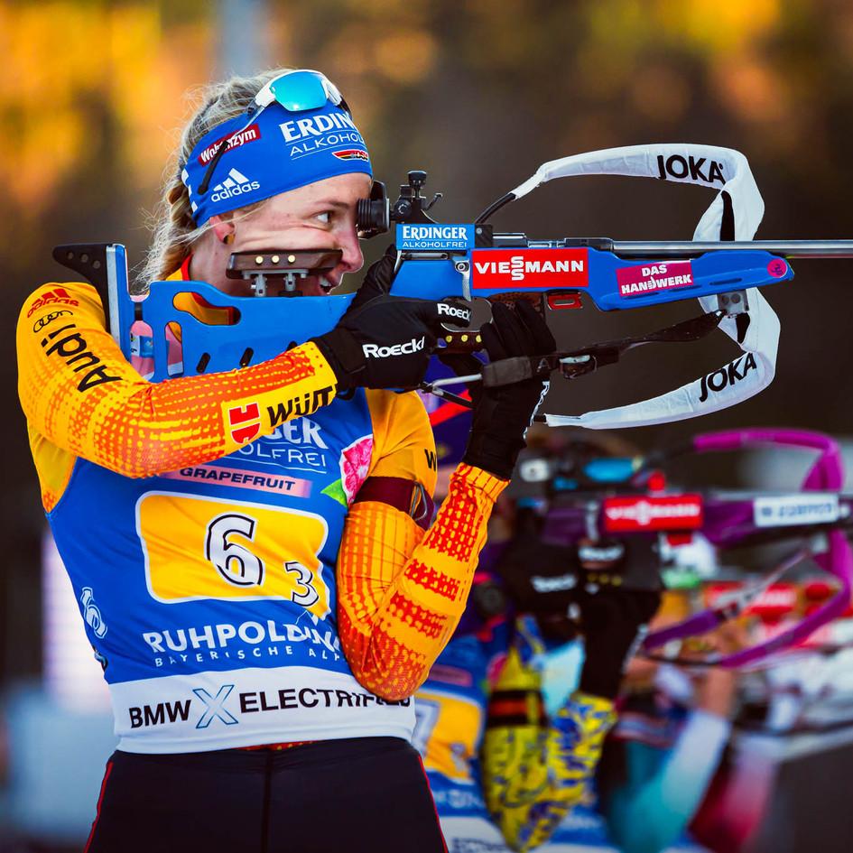 IBU Biathlon Ruhpolding Relay Women