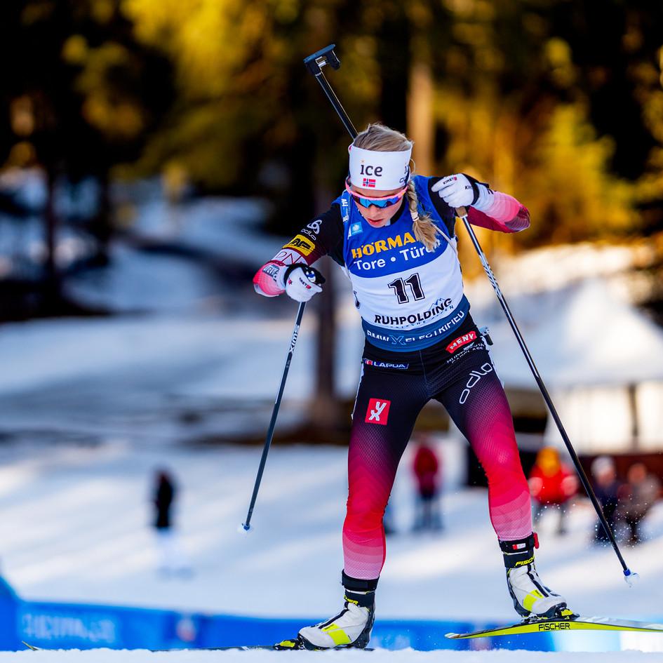 IBU Biathlon Sprint Women