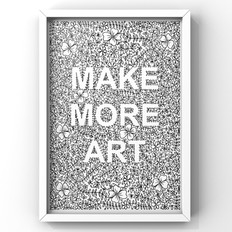 make more art with floral and laurel