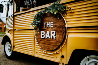 The Bar for The Fabulous Fizz Bar