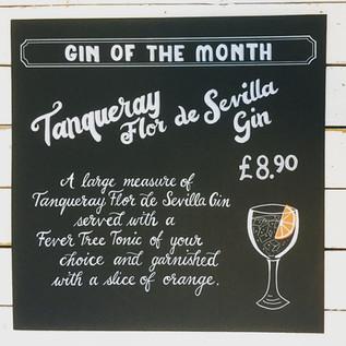 Gin Chalkboard