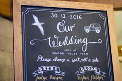 Bridal Party Board