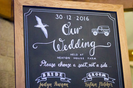 Bridal Party Board