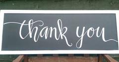 Thank you board
