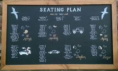 Chalkboard Seating Plan