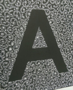Large Letters available 60 x 60cm
