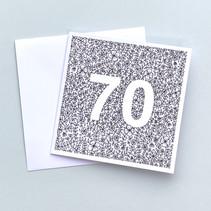 70 birthday card