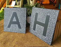 Giant Letters 60 x 60 cm