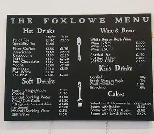 Foxlowe Chalkboard