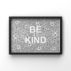 be kind floral and laurel