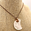 Thumbnail: Quartz Crescent Moon Pendant Necklace