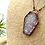 Thumbnail: Druzy Agate Copper Coffin Pendant