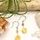 Thumbnail: Yellow Jade Daisy Earrings