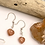 Thumbnail: Sunstone Heart Earrings