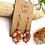 Thumbnail: Czech Glass Flower Earrings
