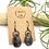 Thumbnail: Black Picasso Jasper Earrings