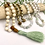 Thumbnail: Burma Jade, Hematite & Fossil Jasper Mala
