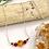 Thumbnail: Carnelian Daisy Bar Necklace