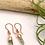 Thumbnail: Prehnite Point Earrings