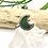 Thumbnail: Green Aventurine Moon Ring