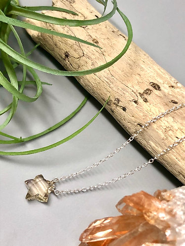 Ametrine Star Necklace