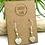 Thumbnail: Aquamarine Heart Earrings