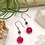Thumbnail: Pink Jade Daisy Earrings